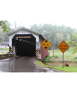 White Rock Forge Covered Bridge 13 x 19 Unmatted Photograph - $35.00