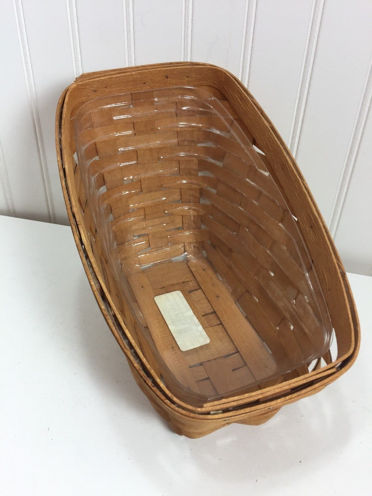 Vintage Longaberger Small Vegetable Basket 24005 1995
