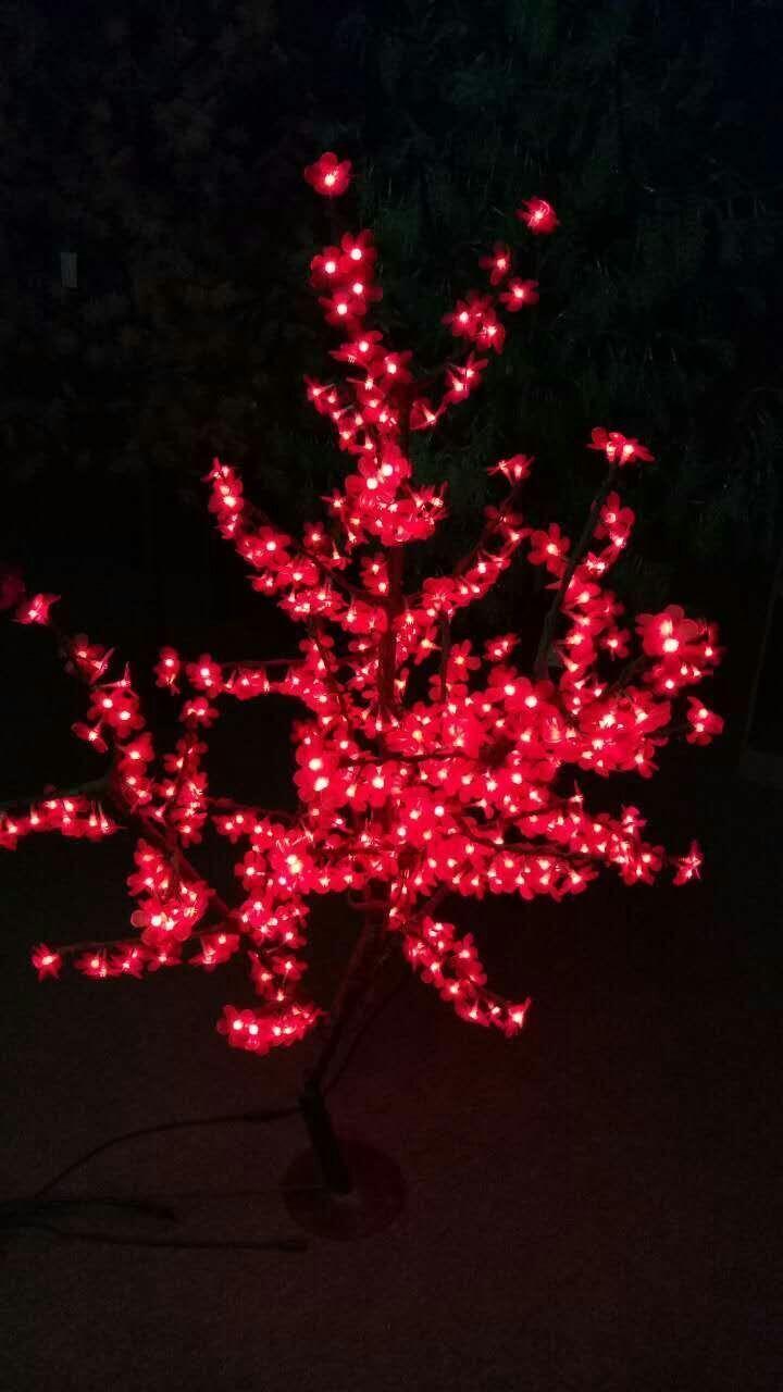 1.5M/5Ft 480pcs red LED Cherry Blossom Tree Wedding Holiday party Xmas decor