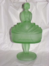 Flapper Girl DECO Ballerina Depression Glass Fr... - $74.24