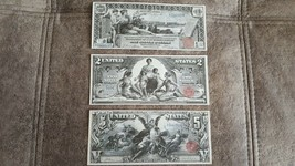 High quality COPIES with W/M United States banknotes Silver Dollar 1896 ... - $15.00