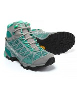 NIB La Sportiva Women's Core High GTX Hiking Shoes, Size 8 M US, Grey / Mint - $158.39