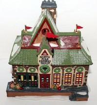 North Pole Express Depot Department 56 North Pole Heritage Village Colle... - $34.95