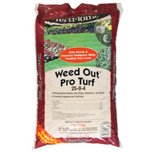 Weed Out Pro Turf 25-0-4 Feeds Lawn Kills Weeds + Pre-emergent Crabgrass... - $69.00