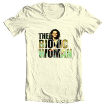 Bionic Woman t-shirt retro TV show Six Million Dollar Man Free Shipping NBC132 image 2