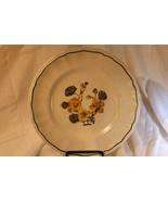 "Staffordshire Kensington Ironstone Dinner Plate 10 5/8"" - $5.54"