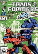Transformers (1984 series) #18 [Comic] [Jan 01, 1984] Marvel - $5.87