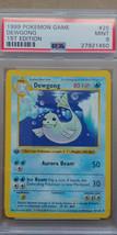 Dewgong 25/102 PSA 9 MINT 1999 Pokemon 1st Edition Base Set Shadowless - $39.99