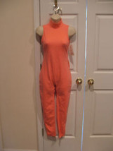 new with tag  carabella coral turtle neck  unitard made in USA  size small - $27.71