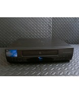 Vintage GE VG4043 BLACK VCR VHS HQ Video Player Recorder Four Head Clear... - $58.40