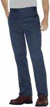 DICKIES Mens 874 Original Fit Work Pants 34W x 29L Dark Navy Work Uniform NWT  - $29.91