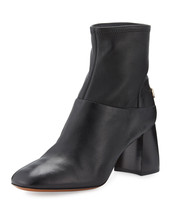 Tory Burch Sidney Leather 70mm Bootie, Black 5.5 MSRP: $425.00 - $299.99
