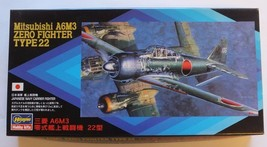 Hasegawa 1/72 Mitsubishi A6M3 Type 22 Japanese WWII Navy Carrier Fighter Zero - $20.49