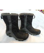 Women's KEEN gray and black 200 gram insulation mid calf  boots size 5.5M  - $24.99