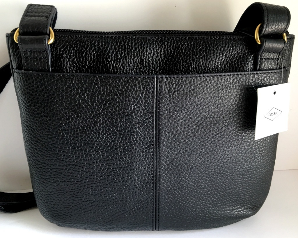 Fossil Tessa Crossbody Shoulder Bag Black And 36 Similar Items Satchel Blue Leather Shb1939001 11x9 Top