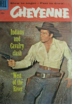 Cheyenne 2nd Issue  #772 Dell Comic Silver Age 1957 VF+ High Grade Western - £46.61 GBP