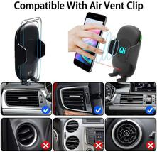 C10 Infrared Automatic Car Air Vent Phone Holder Charger image 8