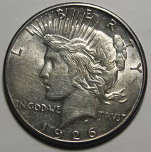 1926S Peace Silver Dollar Coin - Lot # A 1922