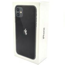 iPhone 11 Black 128GB Original Apple Retail Packaging Genuine Empty Box ... - $9.99