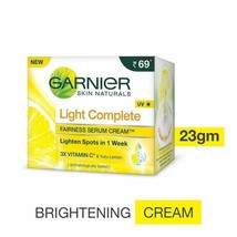 23GM Garnier Light Complete Fairness Serum Cream, - $4.99