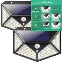 Lampe Solaire Extérieur iPosible【Version Améliorée 2 Pack】100 LED éclair... - $43.84