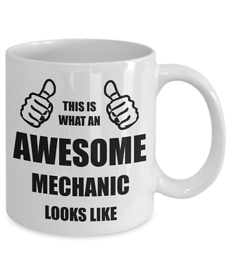 Funny Birthday Gift For Mechanic Dad Husband Boyfriend Brother Friend Him Mug