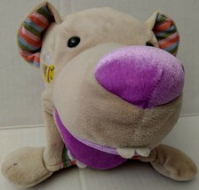 Manhattan Toy Puppy Dog Plush Hand Puppet Bucktooth Bee Character Head P... - $44.99
