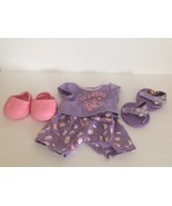 Build A Bear - Dino- Clothes Lot, Pajama's and Shoes, Sandals - $9.99