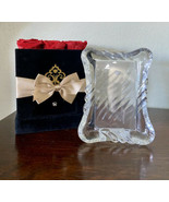 """Mikasa Heavy TWIST Crystal Picture/Photo Frame 3"""" x 5"""" Size,Made Japan B... - $23.28"""