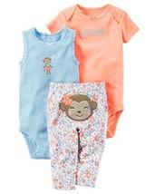 Carter's Baby Girls' 3 Piece Owl Set 6 Months, Pink - $30.11