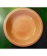 "Vintage Fiesta Rose Pink Homer Laughlin 1986 Coupe Soup Cereal Bowl 7"" USA - $14.01"