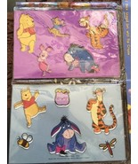 Disney Two-Piece Stencil Set With Pop Crayon Tigger Winnie The Pooh And ... - $5.52
