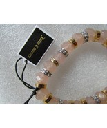 Juicy Couture Bracelet Stretch Beads Crystals NEW - $28.00