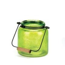 Green Jar Candle Lantern - $18.99