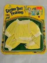 "Totsy Garden Doll Fashions 16-18"" Jogging Yellow 1982 - $24.95"