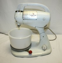 Vintage Hamilton Beach Model K Stand or Hand Mixer with Timer, Bowls WORKS - $50.31