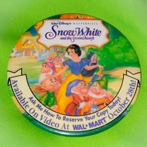 "Vintage Walt Disney Cinderella Video Release 3"" Collectible Pinback Button - $8.55"