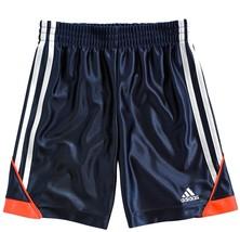 adidas 'Speed' Athletic Shorts (Toddler Boys & Little Boys), Navy, Size 2T - $14.01
