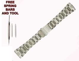 26mm Watch Bracelet Strap For Seiko Velatura SRH001J1 527SKO - $58.41