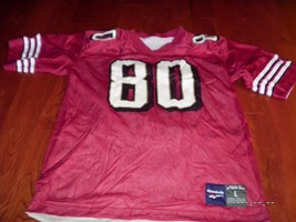 Vintage Mens Reebok Jerry Rice #80 SF 49ers NFL Reversible Jersey RARE r... - €61,59 EUR
