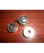 Domestic 151 Rotary Bobbin Case #69727 w/Two Bobbins Squeeze Release Type - $25.00