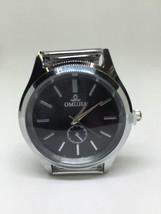 Luxury Mens Watch Stainless Steel Band Waterproof Quartz Business Wristwatch AD8