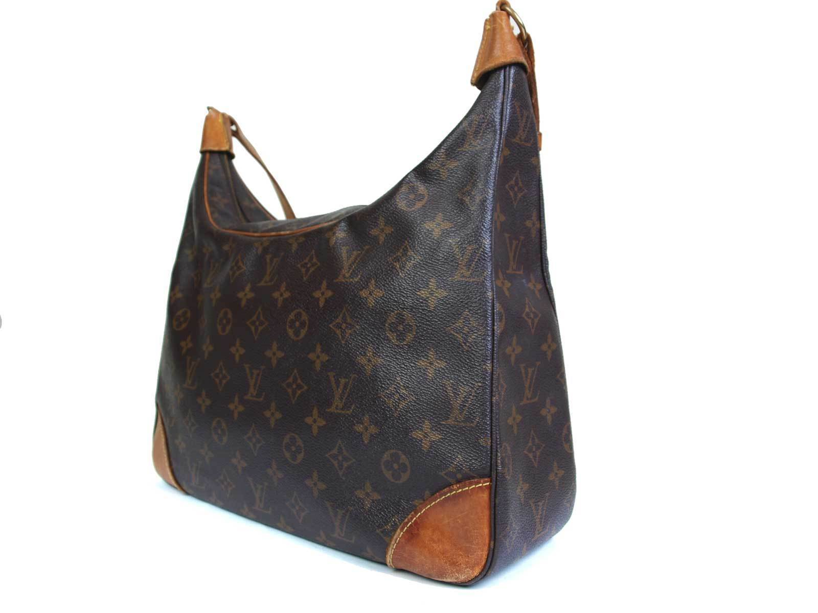 Auth LOUIS VUITTON Boulogne 35 Monogram Shoulder Bag LP16238L