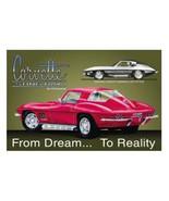 CHEVY, Corvette Stingray Ad Tin Sign Reproduction NEW UNUSED - $5.94
