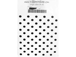Rubbernecker Giant Dot Background Rubber Stamp #490