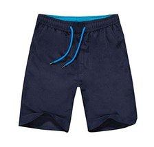 Hornet Park Casual/Sports Summer Men's Shorts Beach Shorts Quick Dry Swimming Tr - $19.54