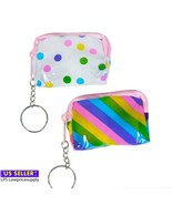 """12 PACK 2.5"""" COIN PURSE KEYCHAIN - $18.76"""