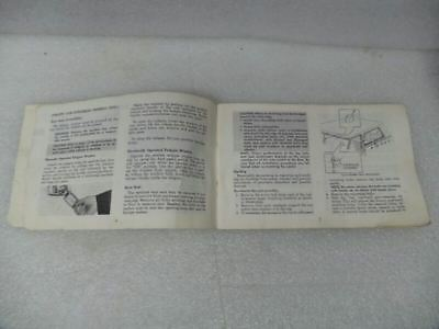 Chevy Pickup TCHEV10   1973 Owners Manual 17361