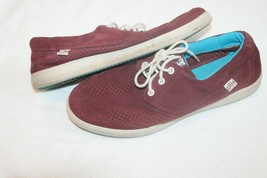 Men's OTH Pool LE Shoes 320346 DC Shoes SIZE 8 MENS burgundy perforated ... - $14.85