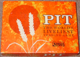 PIT TRADING GAME 1964 PARKER BROTHERS COMPLETE  - $15.00